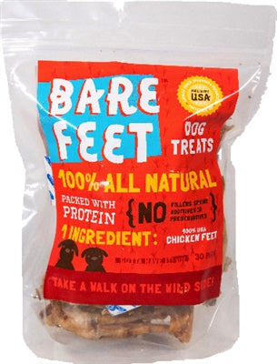 All Natural Dehydrated Chicken Feet- treats for dogs