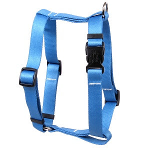Solid Teal Roman Dog Harness