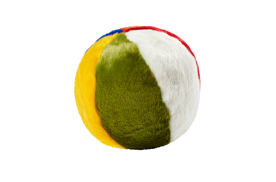 Fluff & Tuff Beach Ball Plush Dog Toy