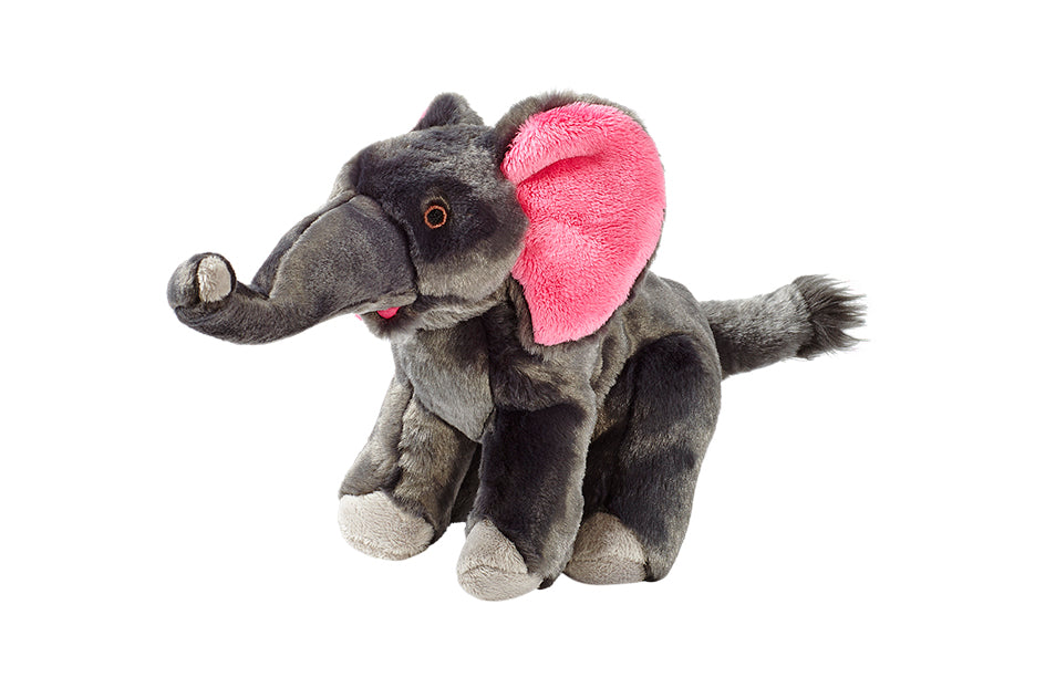 Edsel Elephant Plush Durable Dog Toy