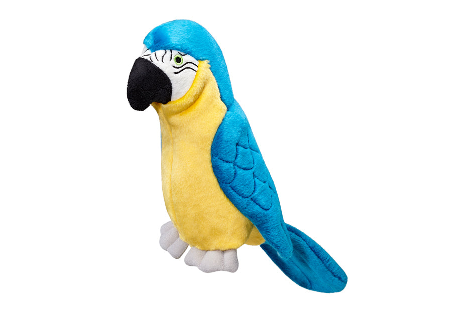 Jimmy the Parrot Plush Durable Dog Toy