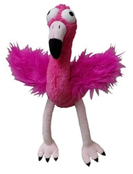 Flo Rida Flamingo- plush dog toy