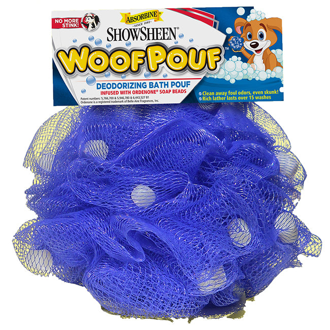 Woof Pouf- Deodorizing Loofah for dogs