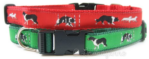 Border Collie Breed Dog Collar or Leash