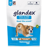 Glandex Anal Gland Supplement (Made in USA)  for Dogs