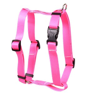 Solid Hot Pink Roman Dog Harness