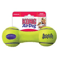 Kong AirDog Squeaker Dumbbell Toy for Dogs