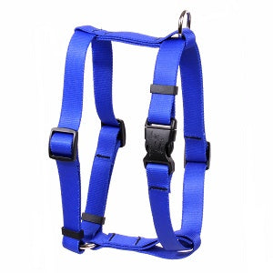 Solid Royal Blue Roman Dog Harness