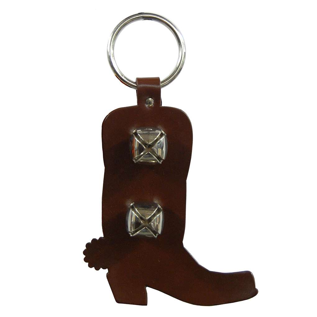 Leather Cowboy Boot Doggie Training Bells