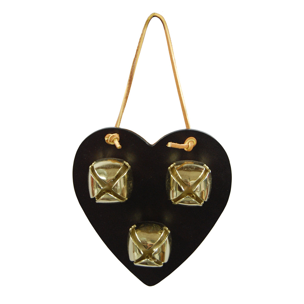 Black Heart Leather Training Bells