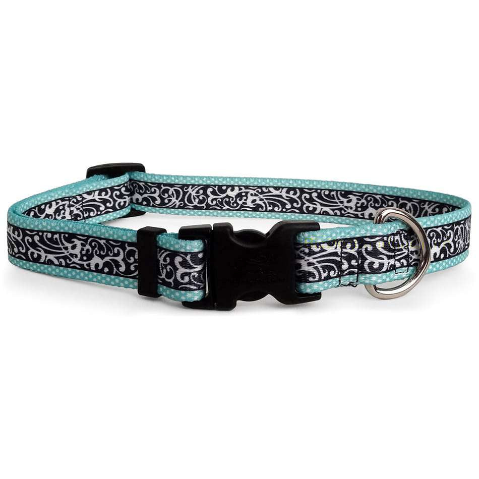 Turquoise Chantilly Dog Collar