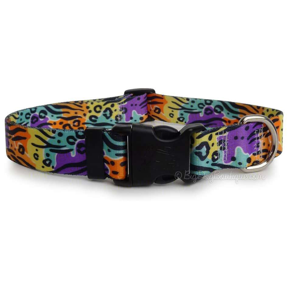 Safari Print Dog Collar