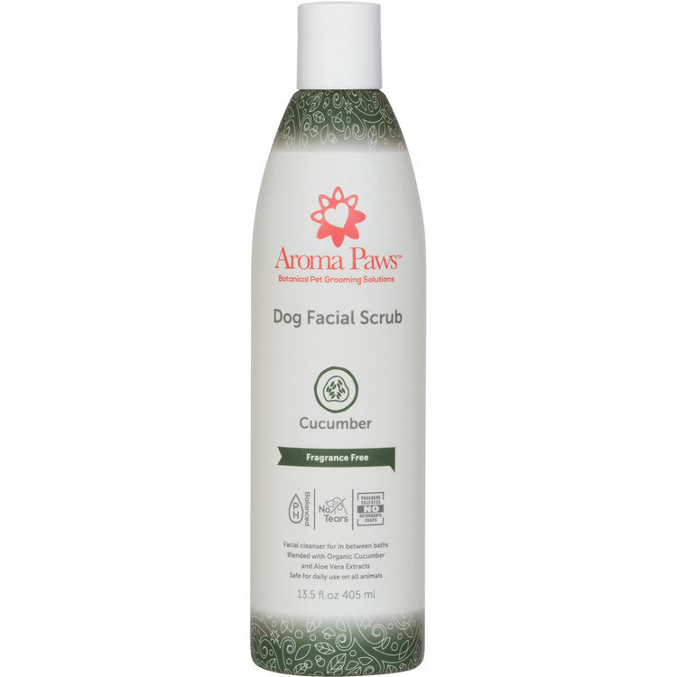 Organic Cucumber & Aloe Facial Scrub for dogs