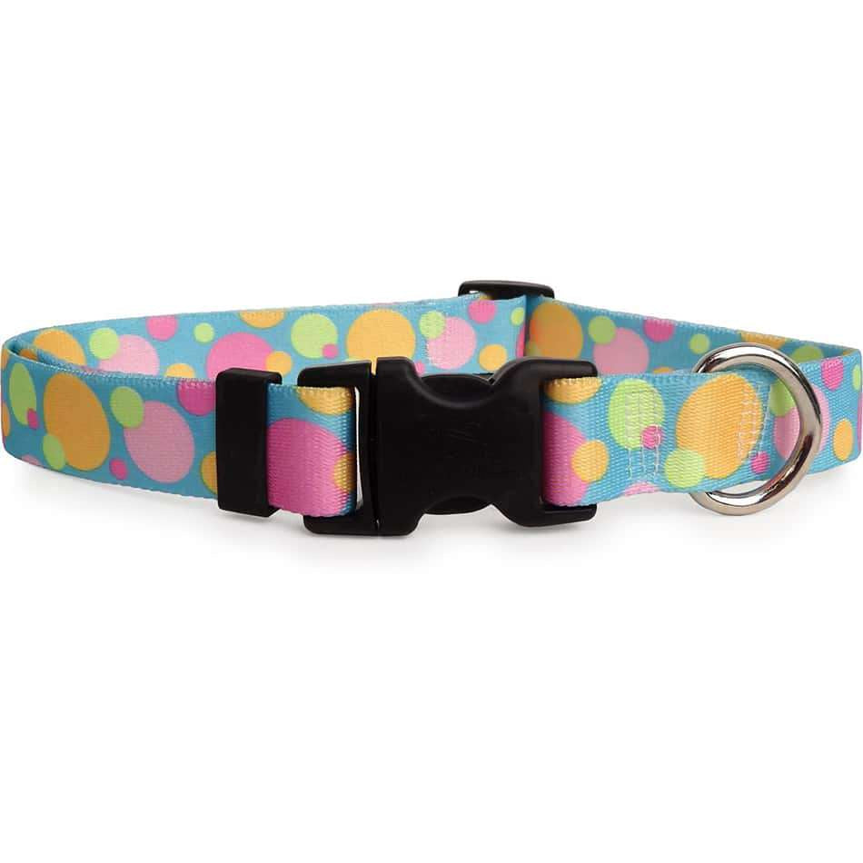Pastel Bubbles Dog Collar