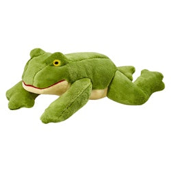 Olive the Frog Plush Dog Toy