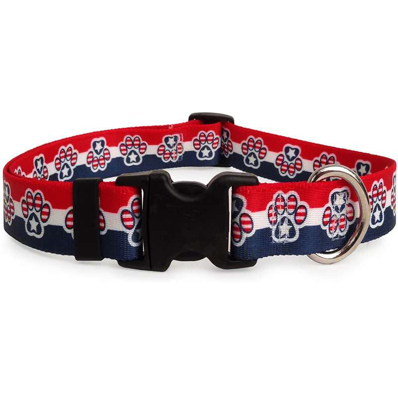 Patriotic Paws Dog Collar