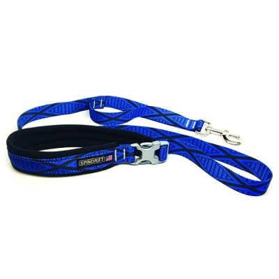 Spindrift Padded Handle Cozy Dog Leash - 10 Colors