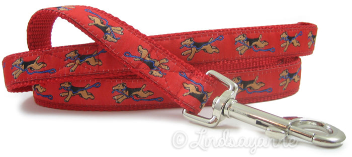 Welsh Terrier Dog Collar or Leash
