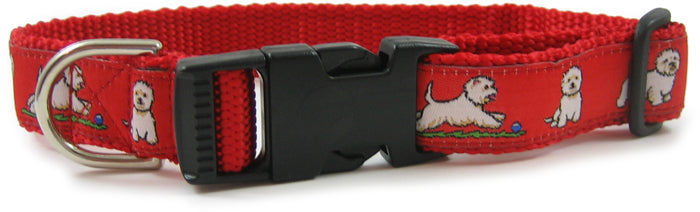 Westie Dog Collar or Leash
