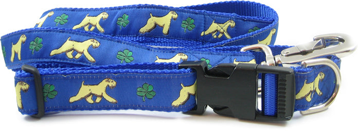 Wheaten Terrier Dog Collar or Leash