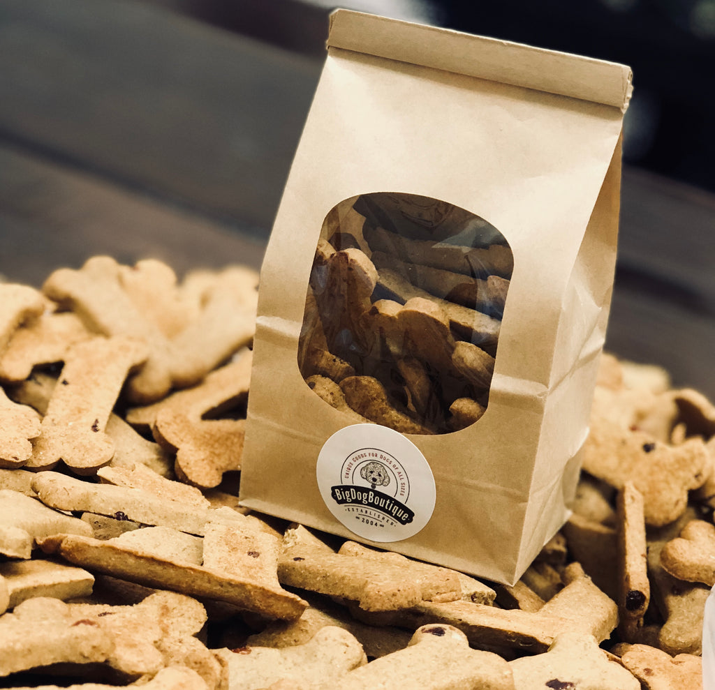 Bag of Bakery Dog Bones- Roasted Peanut
