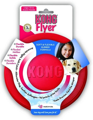 Kong Flyer Frisbee for dogs