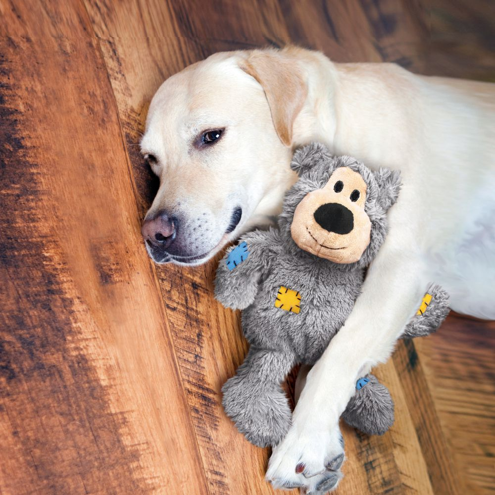 KONG Knots Bear Durable Dog Toy