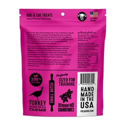 PolkaDog Wonder Nuggets- Turkey/Cranberry- soft, chewy treats for dogs