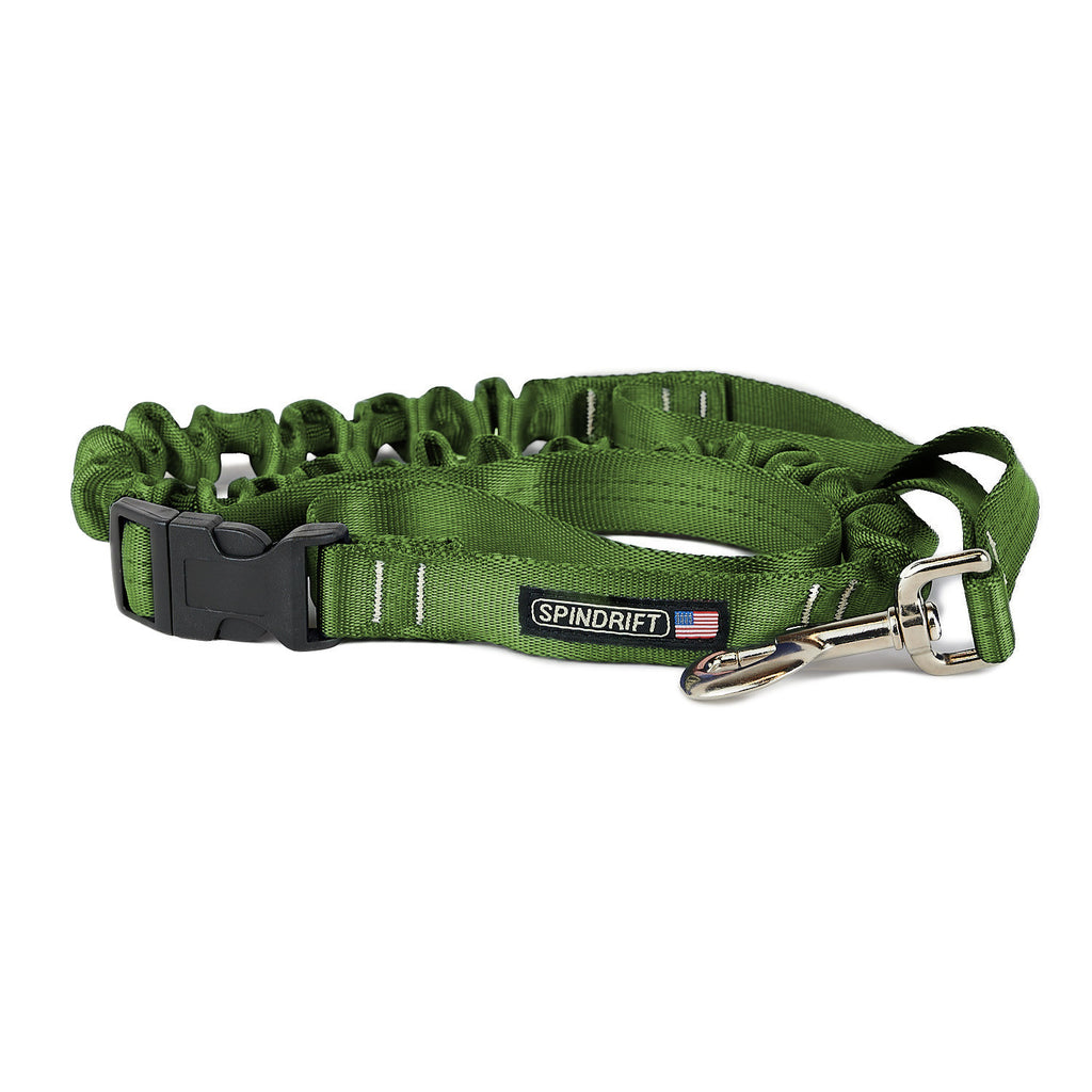 Spindrift Max Walker Stretch Bungee Dog Leash - USA made