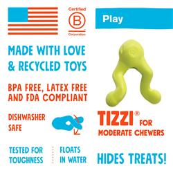 Tizzi Play & Treat Dog Toy by West Paw