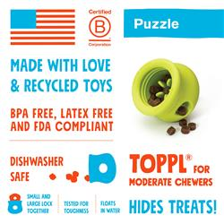 Toppl Puzzle & Play Dog Toy