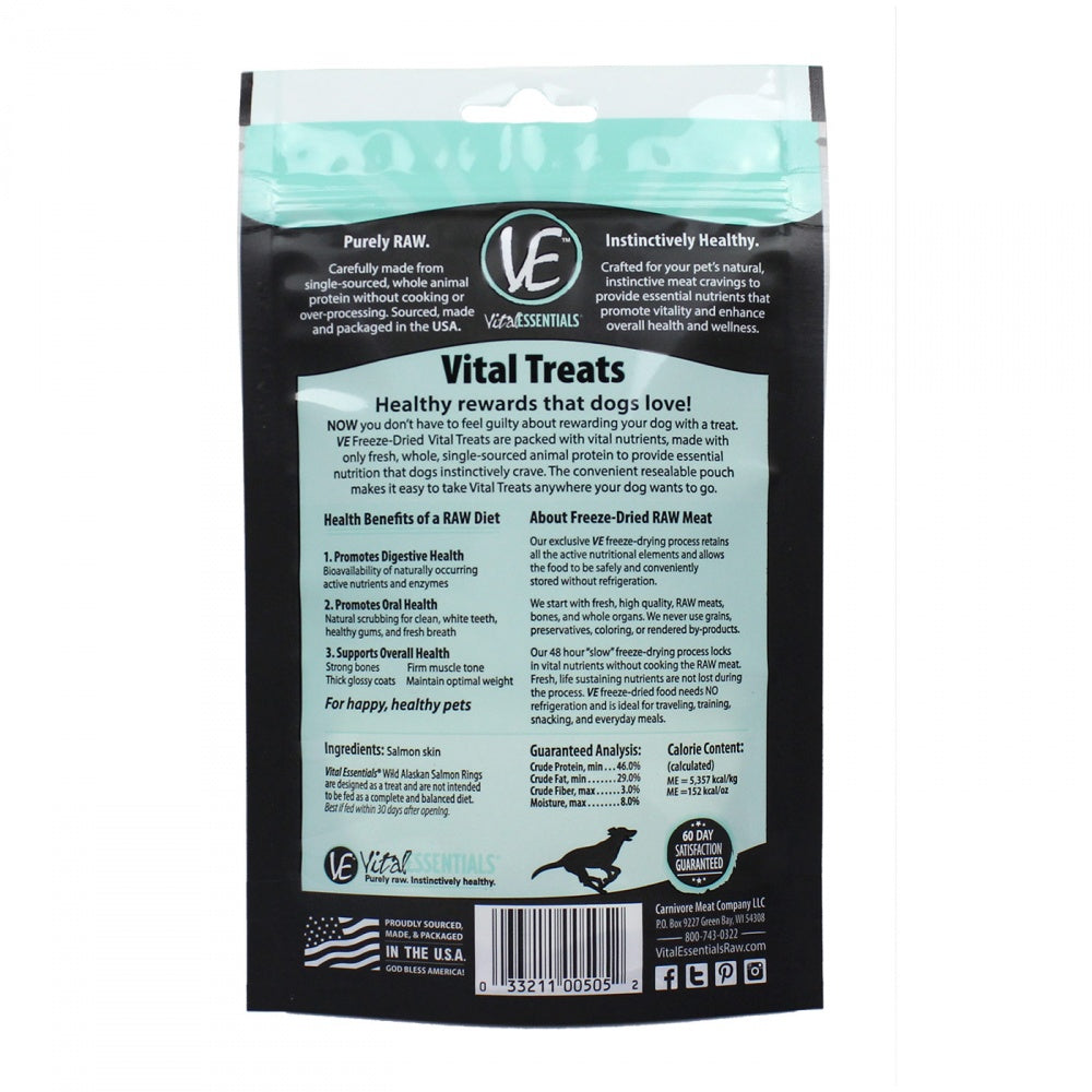 Vital Essentials Freeze Dried Salmon Rings