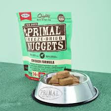 Primal Freeze-Dried Nuggets  5.5oz