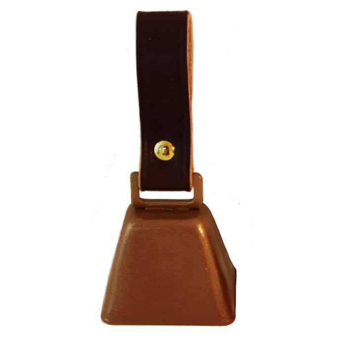 Country Cow Bell with Strap for dog collars