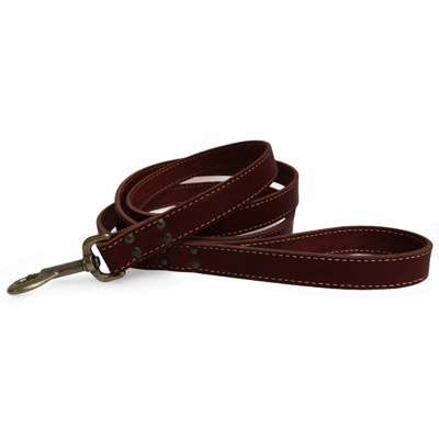 Heirloom Leather Leash - Reproduction Antique Dog Leash