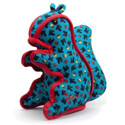 Squirrelly (Teal) Durable Dog Toy