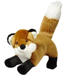 Fluff & Tuff Hendrix Fox Durable Plush Dog Toy