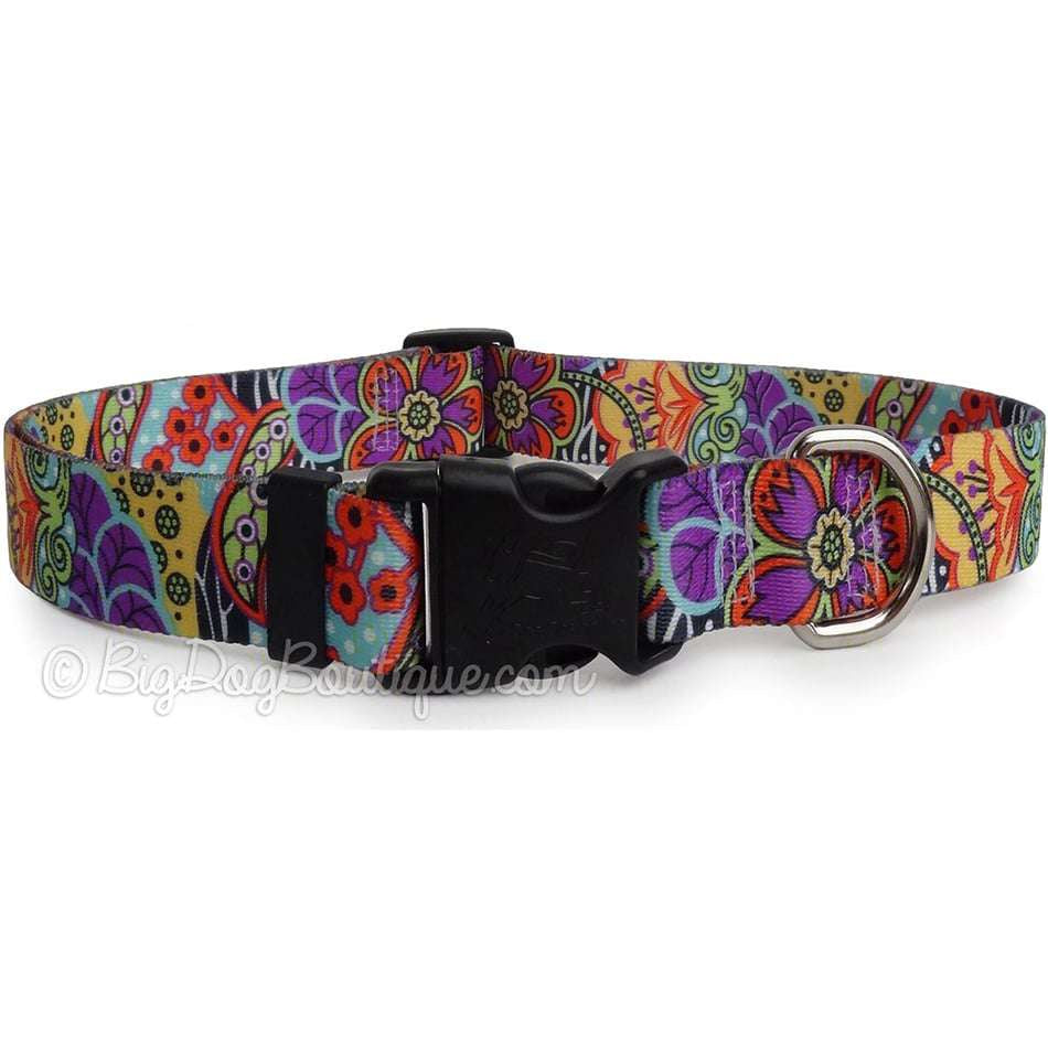 Amazon Floral Dog Collar
