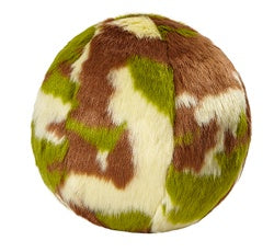 Fluff & Tuff - Camo ball - Medium Plush Dog Toy