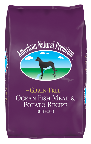 American Natural Premium Dog Food- Ocean Fish & Potato- Grain Free