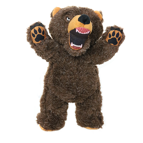 Angry Bear Mighty Tough Dog Toy