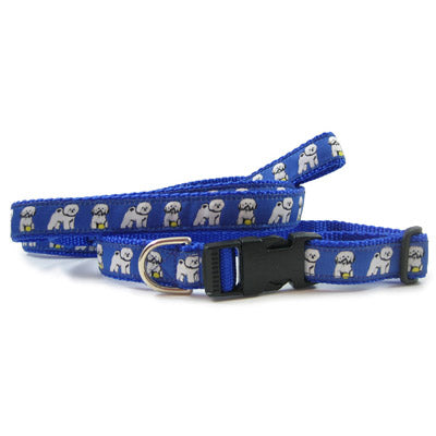 Bichon Frise Breed Dog Collar or Leash