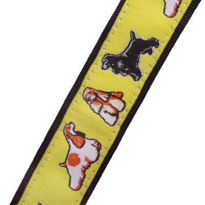 Cocker Spaniel Dog Collar or Leash