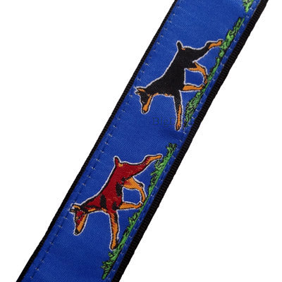Doberman Pincher Breed Dog Collar or Leash