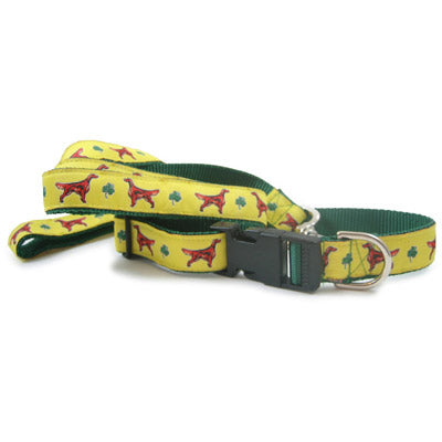Irish Setter Dog Collar or Leash