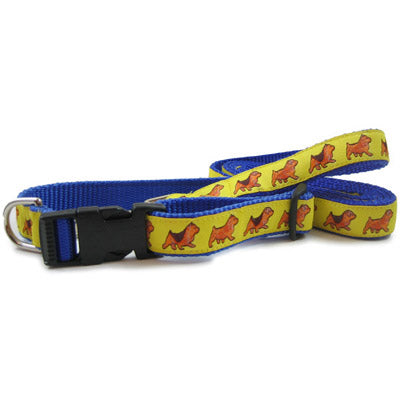 Norfolk / Norwich Terrier Dog Collar or Leash