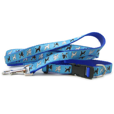 Miniature Poodle Dog Collar or Leash