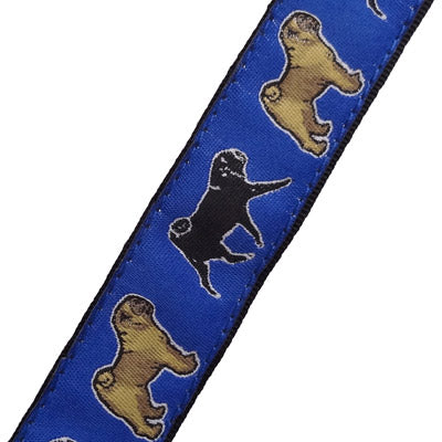 Pug Dog Collar or Leash