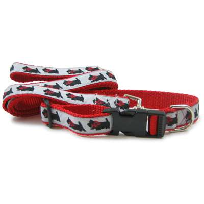 Scottish Terrier (Scottie Dog ) Collar or Leash