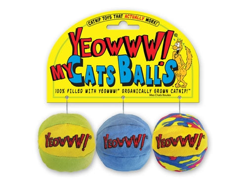Yeoww Catnip Filled Balls for Cats